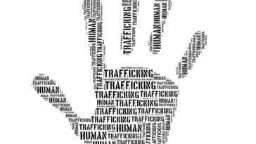 hand human trafficking