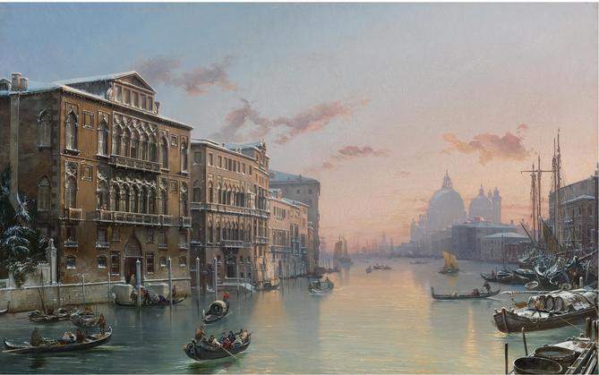 Winter Grand Canal, Venice