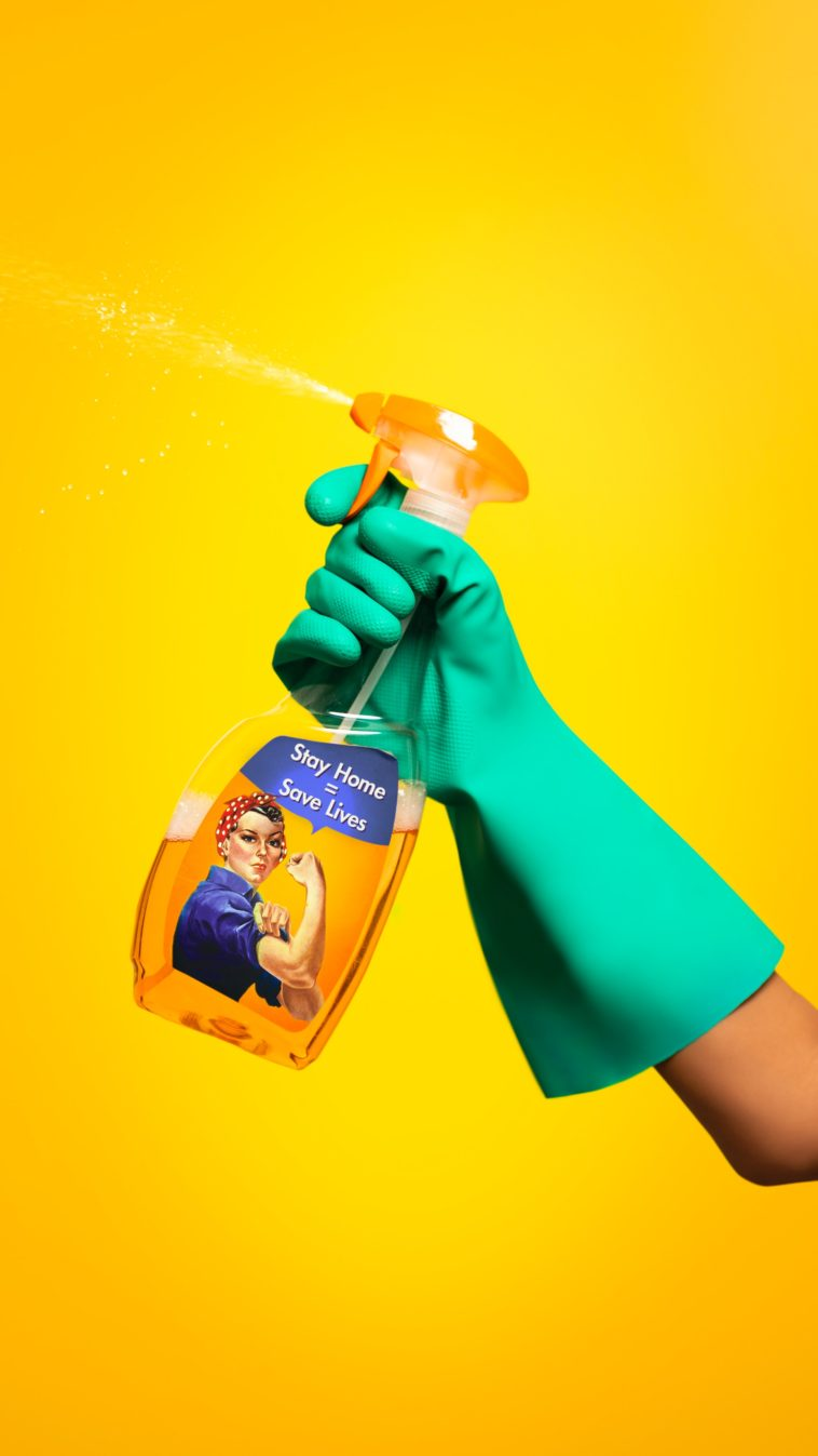 Ways to Disinfect Your Space While You Move