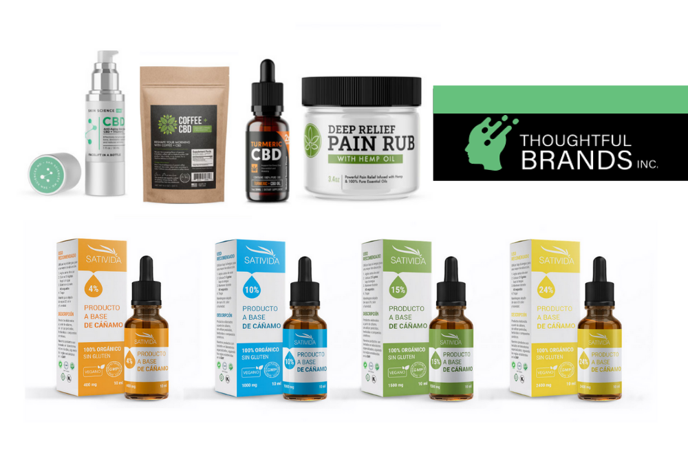 Thoughtful Brands' CBD Products