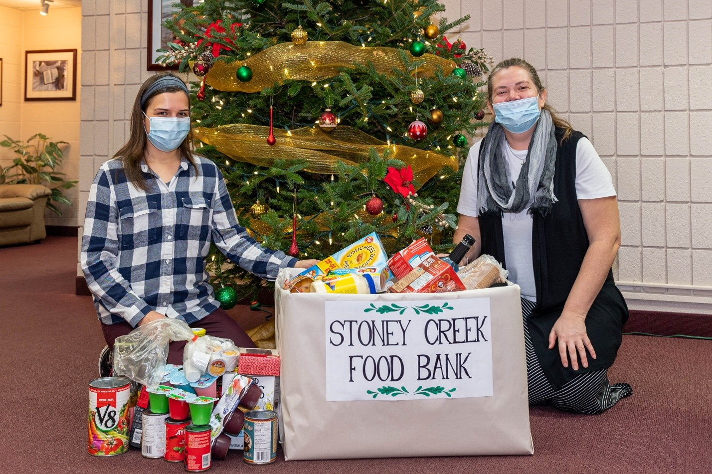 GFA World Collects Food Bank Donations