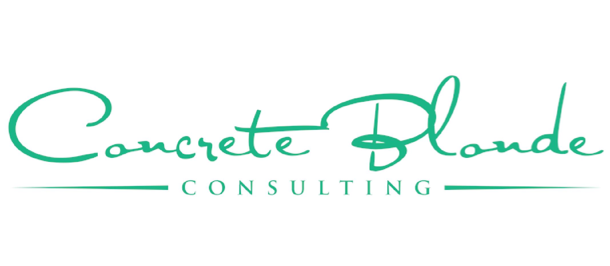 Concrete Blonde Consulting Logo