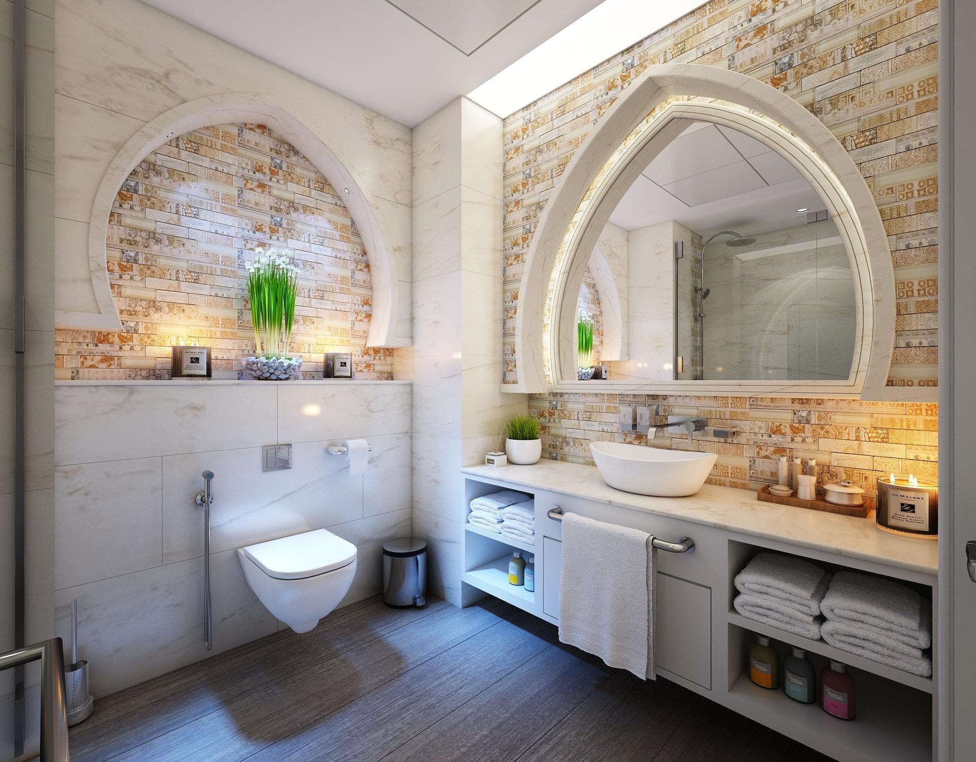 6 Design Ideas for Renovating a Master Bathroom