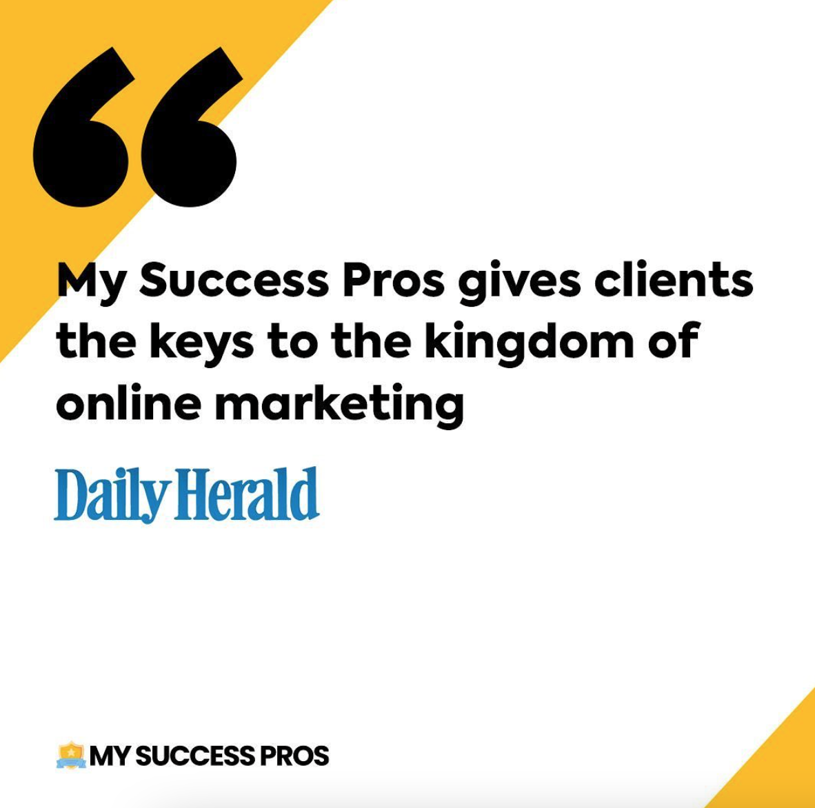 Digital Marketing: Are You Missing The Mark? My Success Pros Shares Their Best Tips